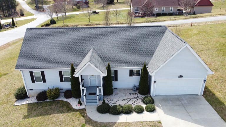 CertainTeed Landmark Georgetown Gray Roof Replacement