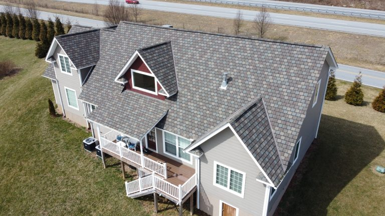 CertainTeed Highland Slate Weathered Wood Roof Replacement