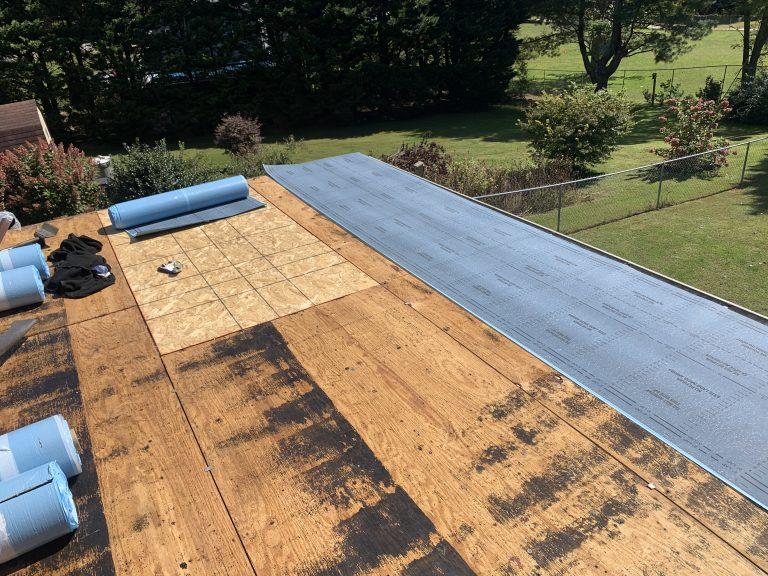 Flat Roof Decking Repair