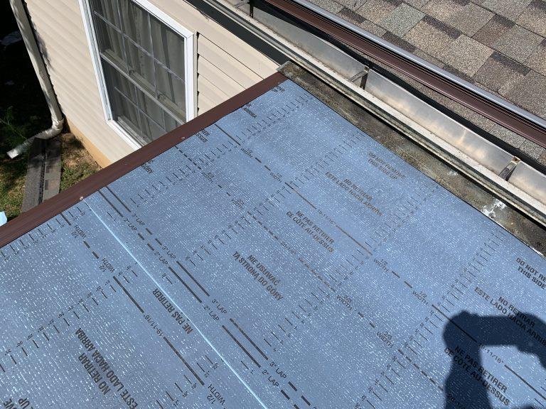 Flat Roof Wall Flashing