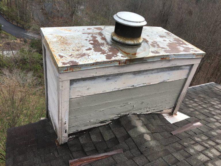 Old Leaking Chimney
