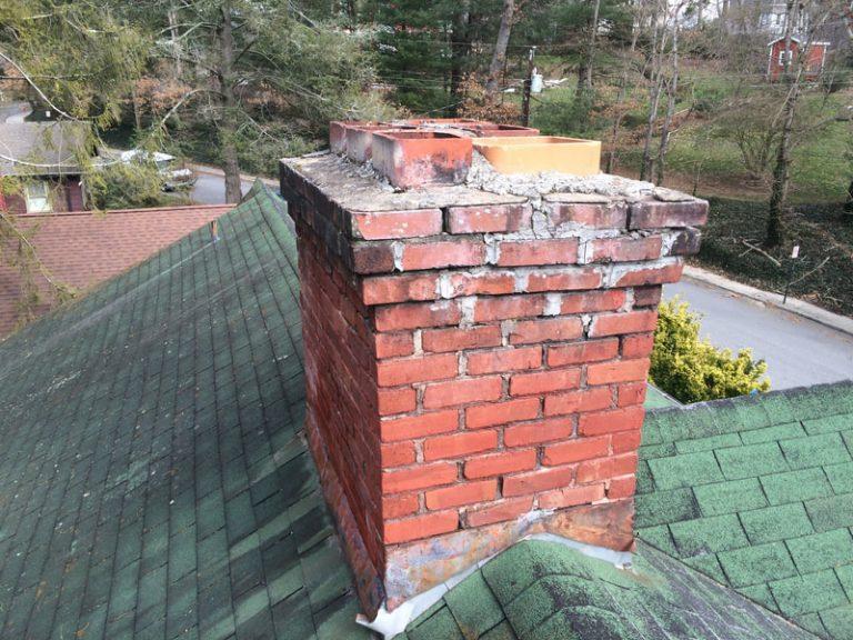 Old Brick Chimney